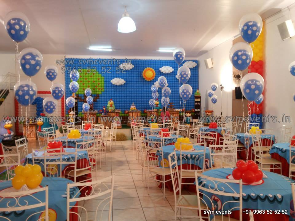 Balloon decorations for birthday party balloon wall for Balloon decoration on wall for birthday