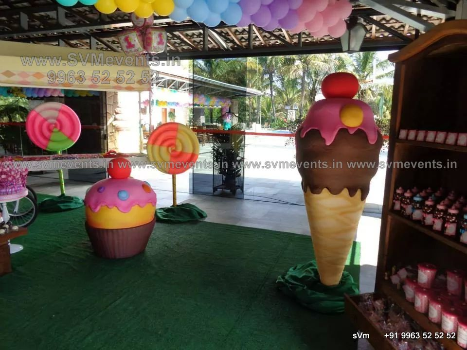 Balloon decorations svm events for Balloon decoration birthday party hyderabad