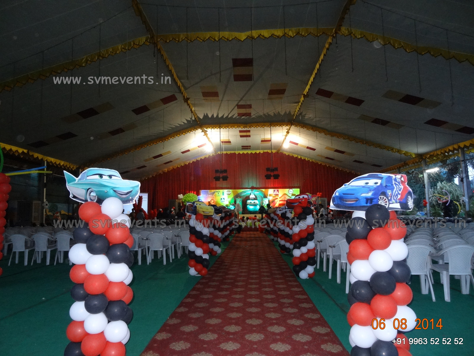 Up Cebu Balloons And Party Supplies Balloon Decoration Cars Theme
