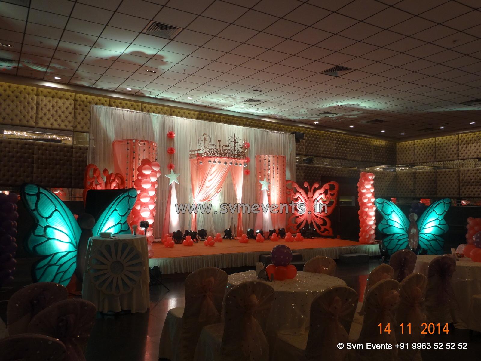 Balloon decorations in hyderabad vijayawada svm events for Balloon decoration in hyderabad